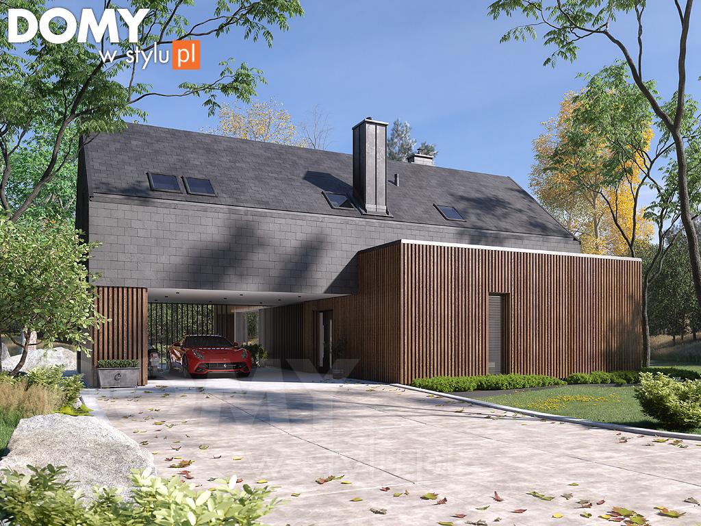 nowoczesny dom wizualizacja