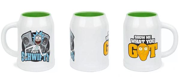 Rick and Morty Get Schwifty - ceramiczne kubki — kopia