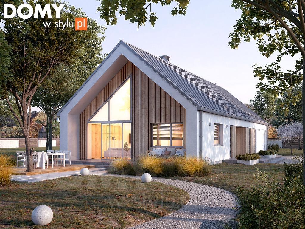Projekty domów tanich w budowie